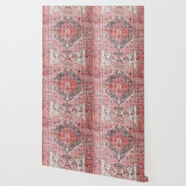 Vintage Anthropologie Farmhouse Traditional Boho Moroccan Style Texture Wallpaper