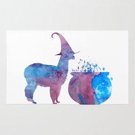 Witch Llama Rug