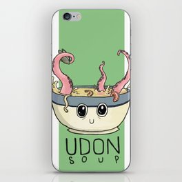 Seafood Udon iPhone Skin