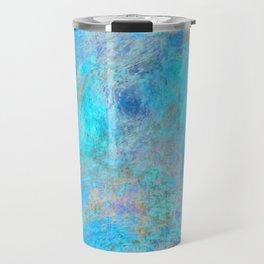 Blue Aura Travel Mug