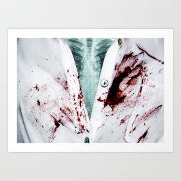 Doctors Inn Art Print