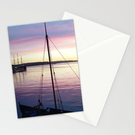 Sunset Oslo Stationery Cards