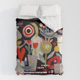 'night garden ...' Comforters