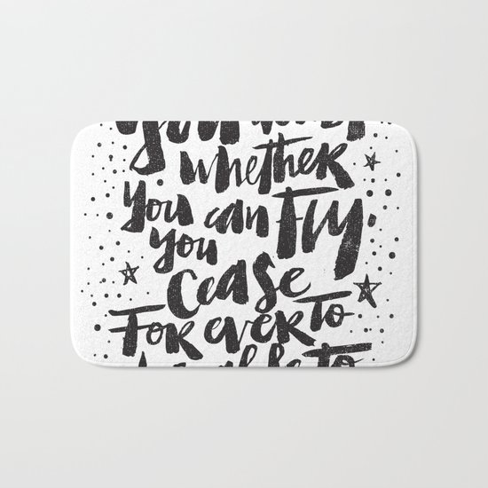 You can fly Bath Mat