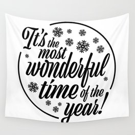 It's the Most Wonderful Time Wall Tapestry