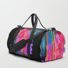 Night Blooming Bouquet Duffle Bag