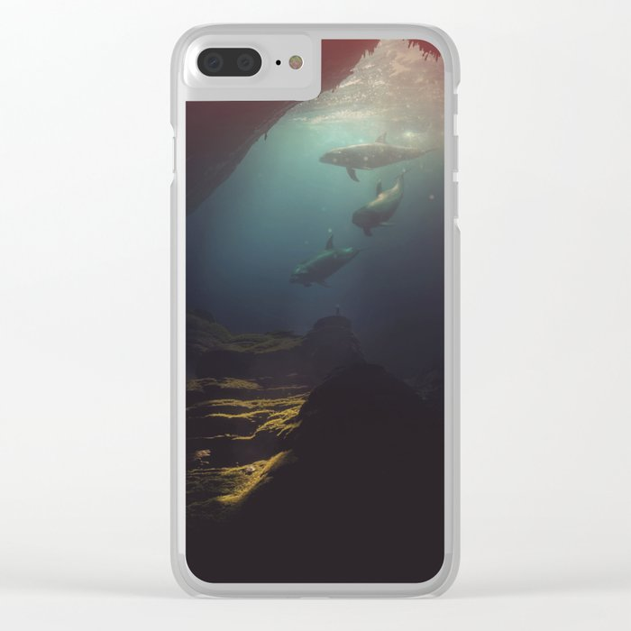 Vast Fantasies Within Clear iPhone Case