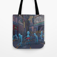 Number City Tote Bag