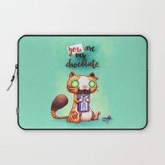 Chocolate addict Laptop Sleeve