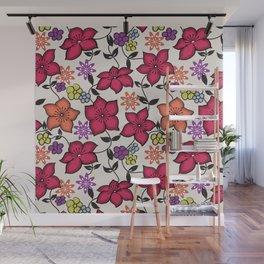 Hana Kimono Pattern Wall Mural