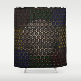 Untitled 2019, No. 14 Shower Curtain