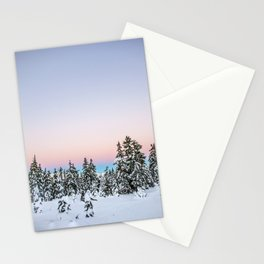 Alpen Glow Stationery Cards