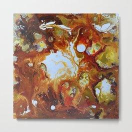 Autumn Nebula Metal Print