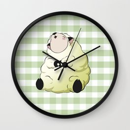 Adorable Animals: Sheep! Wall Clock