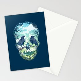 Nature's Skull Stationery Cards
