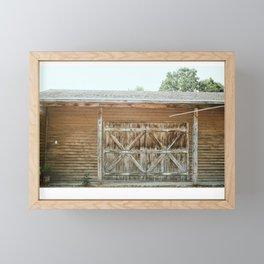 Old town road Framed Mini Art Print