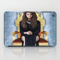 lorde iPad Cases featuring Lorde by Justinhotshotz