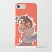hermione iPhone & iPod Cases featuring Hermione (red) by batcii