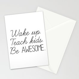 Awesome Teacher Stationery Cards