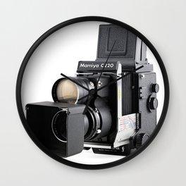Mamiya C220f Medium format TLR film Camera Wall Clock
