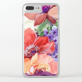 fall bouquet Clear iPhone Case