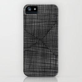 Ink Weaves: Slate iPhone Case