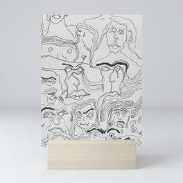 Sappy Lines  Mini Art Print