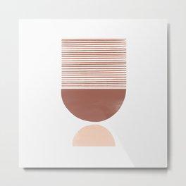 Terra Scale Shutter Mirror Metal Print