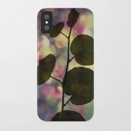 Kiwi leaves iPhone Case
