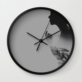In The Depths Of Winter Wall Clock