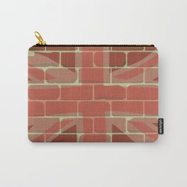 Union Jack Sprayed on a Wall Carry-All Pouch
