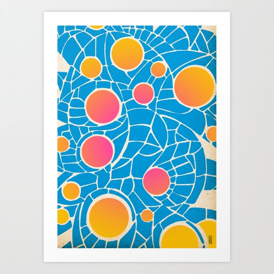 - summer life - Art Print