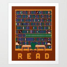 R.E.A.D Art Print
