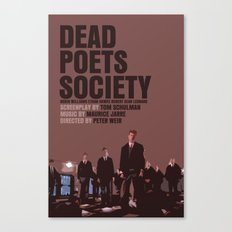 Dead Poets Society Movie Poster Canvas Print