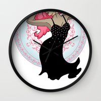 jem Wall Clocks featuring Jem - Music is Magic by CatAstrophe