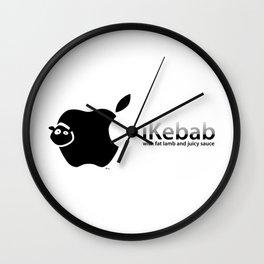 I Kebab Wall Clock