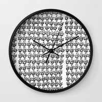 weed Wall Clocks featuring Weed by Geryes