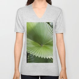 Fan Palms Unisex V-Neck