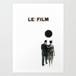 Le Film Art Print