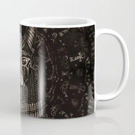Bastet Egyptian Goddess - Sepia Coffee Mug