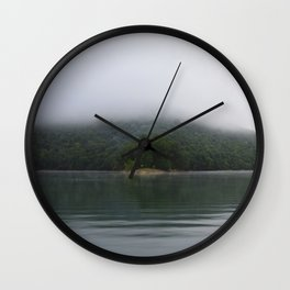 6am Ski Time Wall Clock