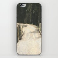 wooden iPhone & iPod Skins featuring Wooden Bridge by Chris' Landscape Images & Designs