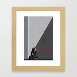 see things from a different perspective Framed Art Print