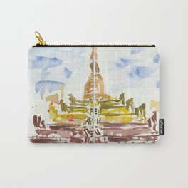 Shwesandaw Pagoda Carry-All Pouch