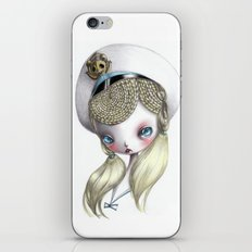 Girl in Uniform iPhone & iPod Skin
