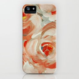 Shabby Flowers iPhone Case