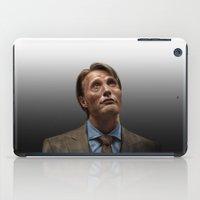 hannibal iPad Cases featuring Hannibal by Jaimie