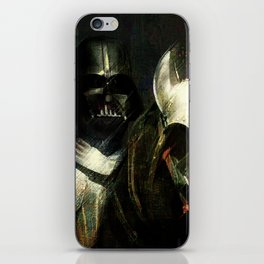 Knight Vader  iPhone Skin