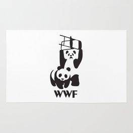 WWF Panda Chair Rug