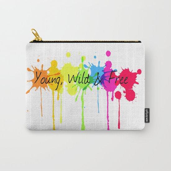 Young, Wild and Free Carry-All Pouch